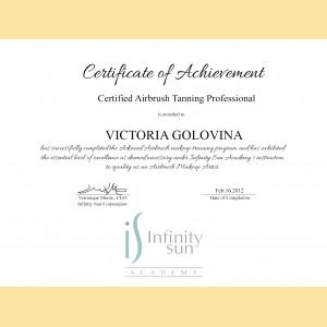 Sertificate of Achievement