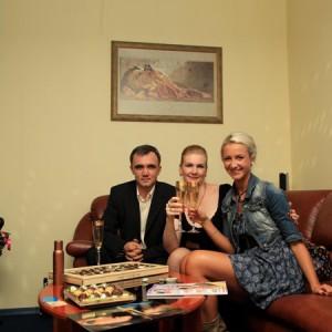 Студию посетила   телеведущая реалити–шоу «Дом–2»   Ольга Бузова